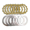 A set Motorcycle Engine Parts Clutch Friction Plates Kit & steel plates For HONDA CR125 CR 125 HPP 1994-2005