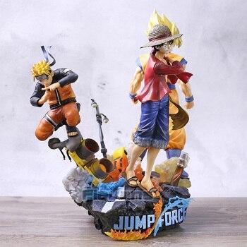 Jump Force Dragon Ball Son Goku One Piece Luffy Naruto Shippuden Naruto PVC Figure Collection Model Toy Statue