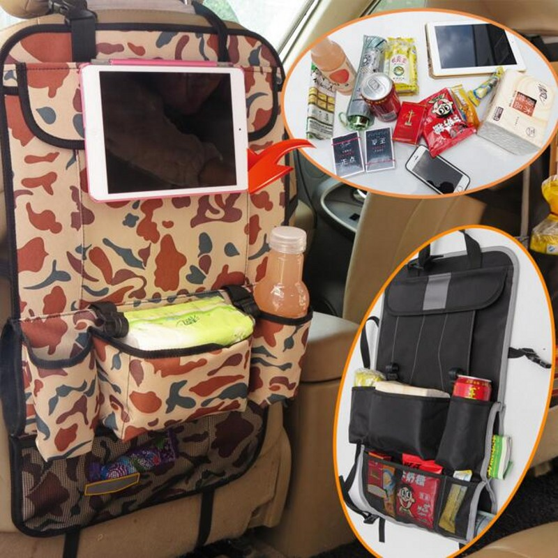 Creative Fashion Multifunctional Car interior Travel Storage Organization Tablet Food Fo ...