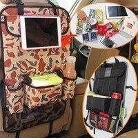 Moda criativa Organização de Armazenamento de Viagem Multifuncional interior Do Carro Tablet Comida Para Pendurar o saco De Armazenamento Organizador carro