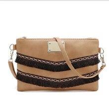 Vogue Star women messenger bags PU women handbags famous brands fringe tassel bag female bolsas de marca fashion cross body bag