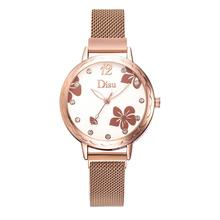 Luxury Diamond Women Magnetic Watch 2019 Ladies Quartz Wrist Fashion Flower Dial Female Clock relogio feminino reloj mujer
