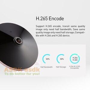 Image 4 - H.265 POE אודיו FHD 1920x1080 P 2.0MP ראיית לילה Fisheye פנורמי 18 LED IR IP מצלמה אבטחת ONVIF P2P IP CCTV מצלמת