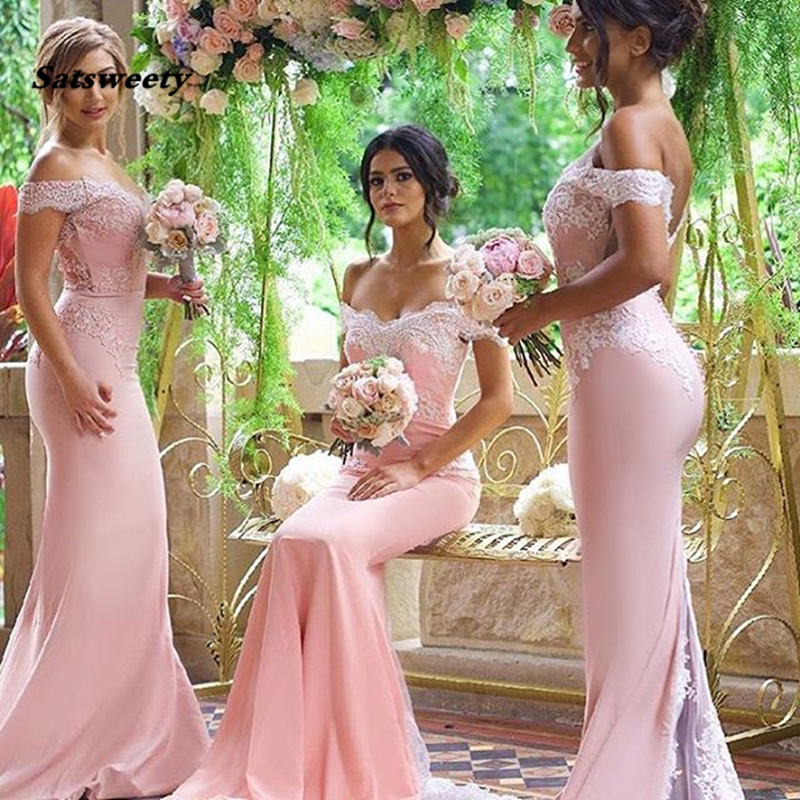 Sexy Lace Burgundy Bridesmaid Dresses 2020 hot Mermaid Long Sleeve Beaded Long Bridesmaid Dress Formal Maid Of Honor plus size