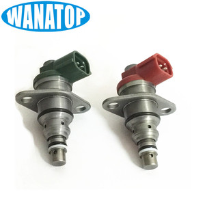Um Par Novo SCV 096710-0120 RED 096710-0130 Válvula de Controle de Sucção De Combustível VERDE Para Toyota