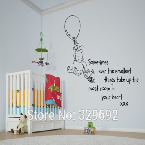online get cheap winnie de pooh muurstickers citaat -aliexpress, Deco ideeën