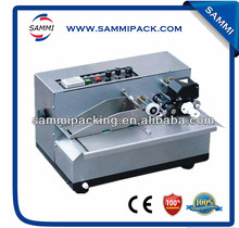 MY-380 Semi-auto ink roll date coding machine for plastic bag/label