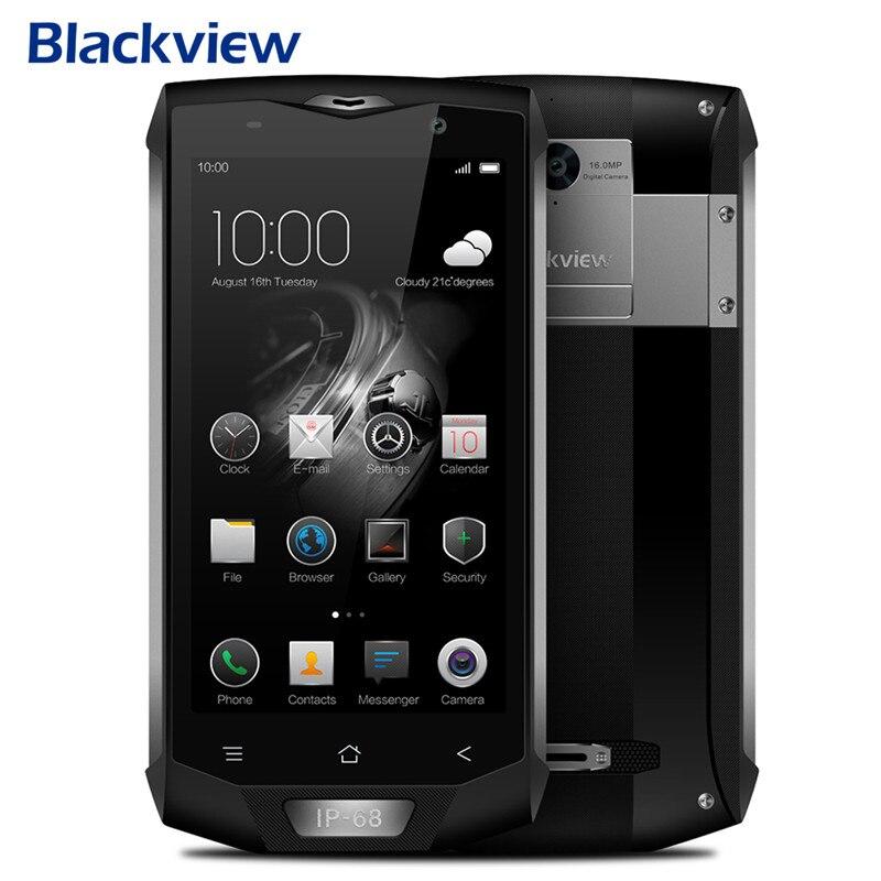 Blackview BV8000 PRO Smartphone IP68 Waterproof 6GB RAM 64GB ROM MT6757 Octa Core 5.0 1080P Android 7.0 Fingerprint 16MP NFC