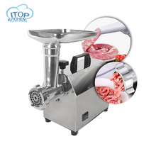 Commercial/Household Electric Meat Grinder Sausage Stuffer Mincer Heavy Duty Filler Stainless Steel Mincing Machine 140W Kitchen недорого