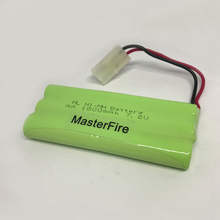 10pack/lot MasterFire New NiMH 7.2V AA 1800mAh Battery Rechargeable Ni-MH Batteries Pack With Plugs Free Shipping
