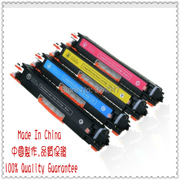 Use For HP Color Laserjet Pro MFP M177FW Toner Cartridge,For HP CF350A CF351A CF352A CF353A 130A Toner,Toner Refill For HP M176