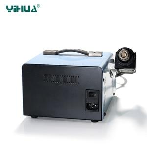 Image 4 - YIHUA 992DA + LCD stacja lutownicza z palenia lutowane żelazo próżniowe długopis BGA stacja lutownicza na gorące powietrze suszarki spawania stacja