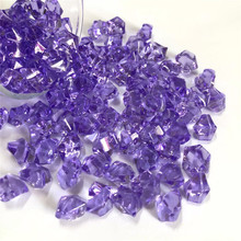Ice Rocks Table Scatter Confetti Vase Filler Crystal Acrylic Stone Sew On Rhinestone Great decoration for Home Fish Tank