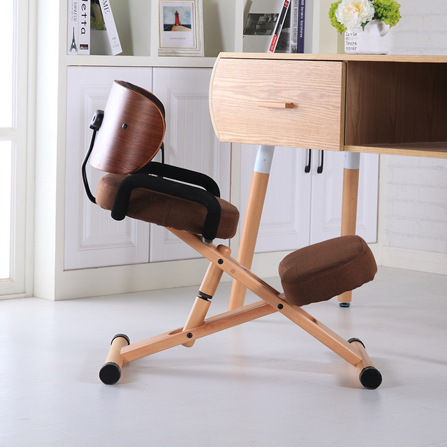 Ergonomic Kneeling Chair with Back and Handle 3