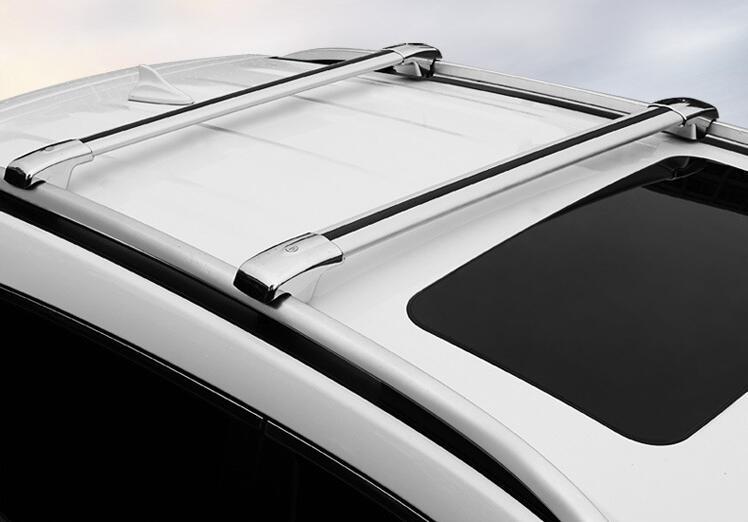 2018 new Car General Luggage Rack Travel Rack Cargo Box Luggage SUV CAR Crossbar 2pcs/pair