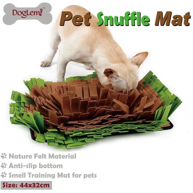 Doglemi Pet snuffle mat puppy dog cats training mats stress release nosework blanket Feeding Mat Yummy pet Mat toys for dogs #FS