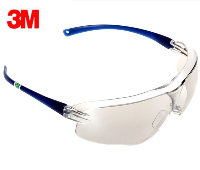 3M 10436 Safety Protective Goggles Streamlined Protective Glasses Mirror Reflective Scratch Resistant lenses G82310
