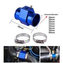 8 размеров, синий датчик температуры воды, датчик температуры, шланг радиатора, адаптер, алюминий, низкая цена, аксессуары 8Z