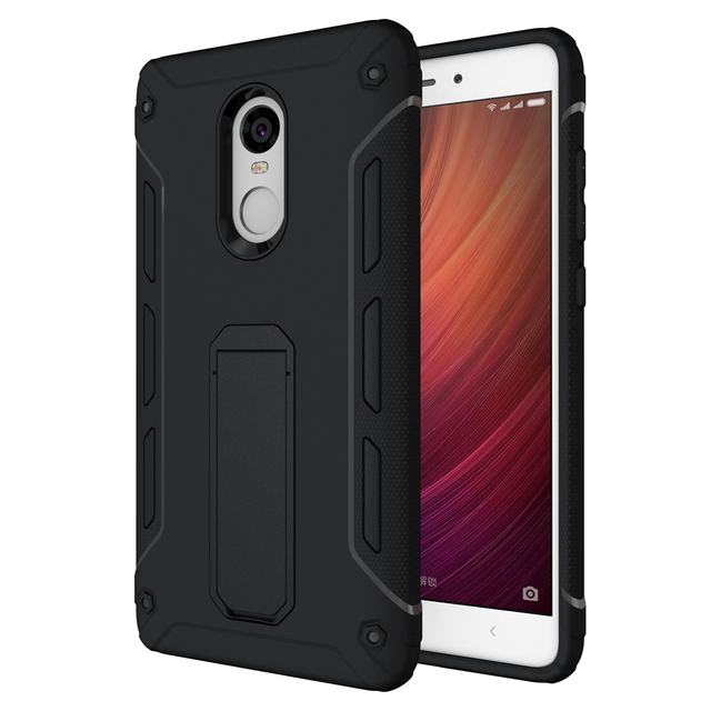 info for 4c824 22cb4 US $7.4 |Xiaomi Redmi Note 4 Case Silicone Back Cover for Xiaomi note 4x Mi  Note4 x Armor Slim Kickstand Shockproof Full Protective Cases-in ...