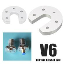3D FREUNDE 6 pi/èces M6 0,2 mm J-head set compatible avec E3D V5 V6 bowden RepRap Extruder Hotend buse en laiton pour filament de 1,75 mm