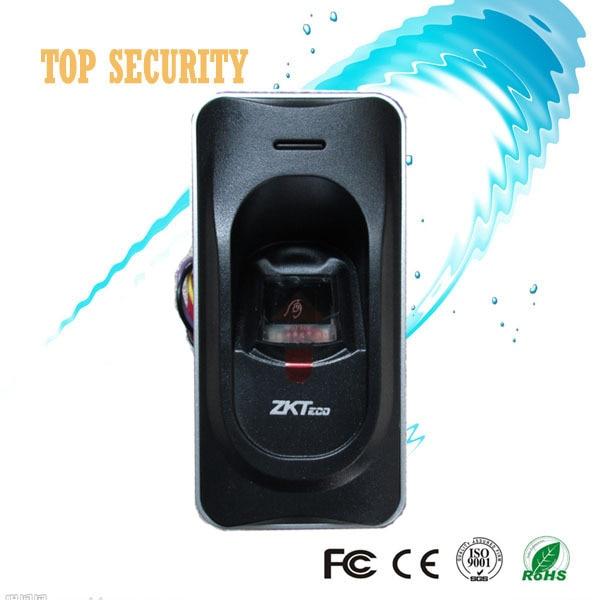 RS485 fingerprint reader for access control system inbio460 access control panel FR1200 RS485 fingerprint and RFID card reader