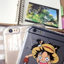 Luffy & Zoro Transparent Phone Cover