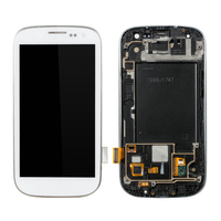 1Pcs LCD For SAMSUNG Galaxy S3 Display i9300 Touch Screen Digitizer Assembly 4.8 1280*720 AAA LCD Screen Replacement with Frame