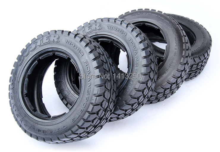Highway-road Tire Set For 1/5 HPI Baja 5T Parts