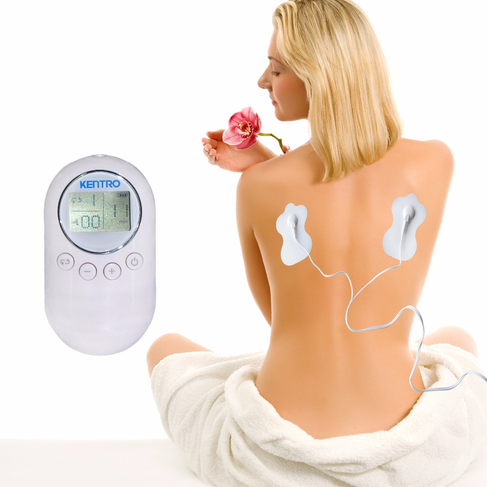 TENS Low Frequency Therapy Massager Instrument Points Stimulate Reduce Pain Fatigue Health Care Device+2Pr XFT Pads FreeShipping health care new health products prostate massager noninvastive thermal electric therapy device for urine pain