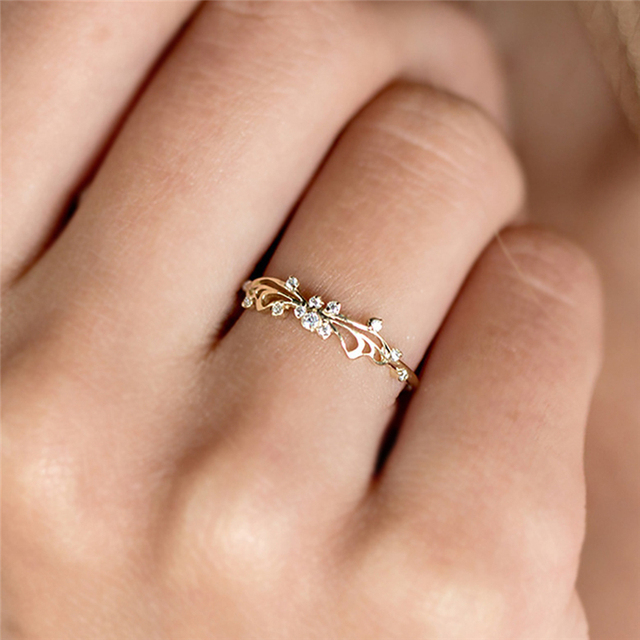 Butterfly Crystal Ring Ethereal And Wistful In Design For Women