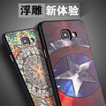 For Samsung Galaxy A5 2016 A510F A510/A7 2016 Cool Ironman Superman spider-man Flower Soft TPU Case mobile Phone Cover