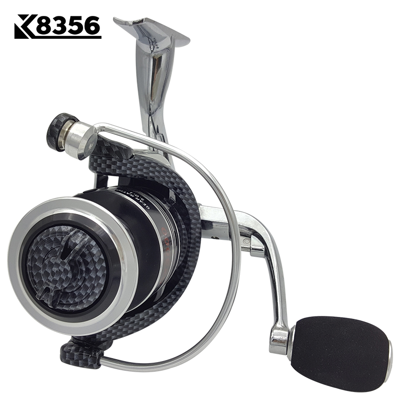 K8356 Fishing Spinning Reel GX1000~GX6000 14BB 5.5:1 Carp Fishing Reel Metal Line Cup Left/Right Handle Saltwater Fishing Reel rg new 13 1 bearing left right fishing reel with digital display fishing line counter saltwater carp reel 6 3 1 casting scroll