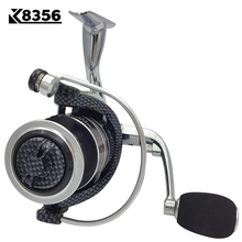 K8356 Fishing Spinning Reel GX1000~GX6000 14BB 5.5:1 Carp Fishing Reel  Metal Line Cup Left/Right Handle Saltwater Fishing Reel