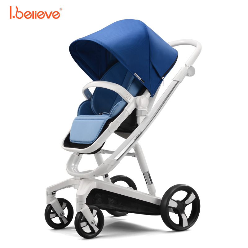 I.believe Baby Stroller I-S035 Sit&Lie High Landscope Folding Baby Carriage 0-3 Years Prams For Newborns SGS certification folding baby stroller lightweight baby prams for newborns high landscape portable baby carriage sitting lying 2 in 1