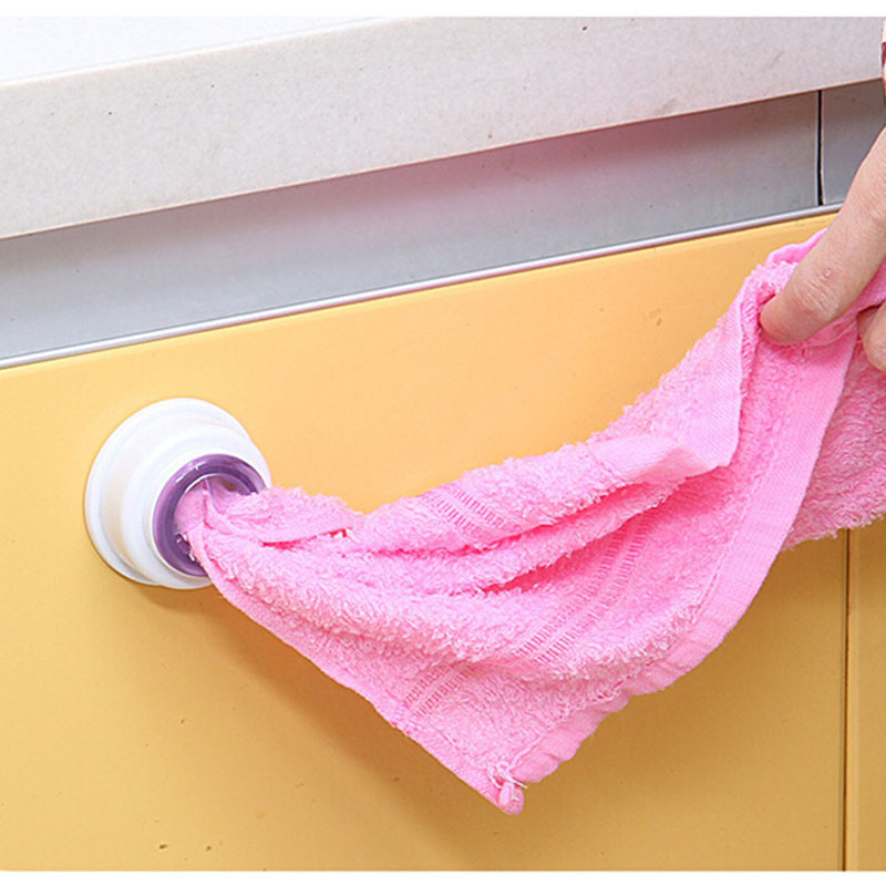 1pc Washcloth Clip Holder Wash Cloth Storage Rack Hook Detachable Towel Rack Organizer Hanger Household Kitchen Accessories