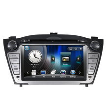 2 Din In dash Touch Screen Car DVD GPS Navigation for Hyundai IX35 2009 2010 20112012 USB RDS iPod Phonebook Bluetooth Handsfree