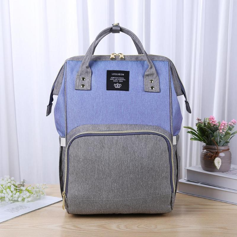 Baby Care Nappy Changing Diaper Bag Large Capacity Mummy Nursing Handbag Nappy Bag Kits Mummy Maternity Travel Backpack for BabyBaby Care Nappy Changing Diaper Bag Large Capacity Mummy Nursing Handbag Nappy Bag Kits Mummy Maternity Travel Backpack for Baby
