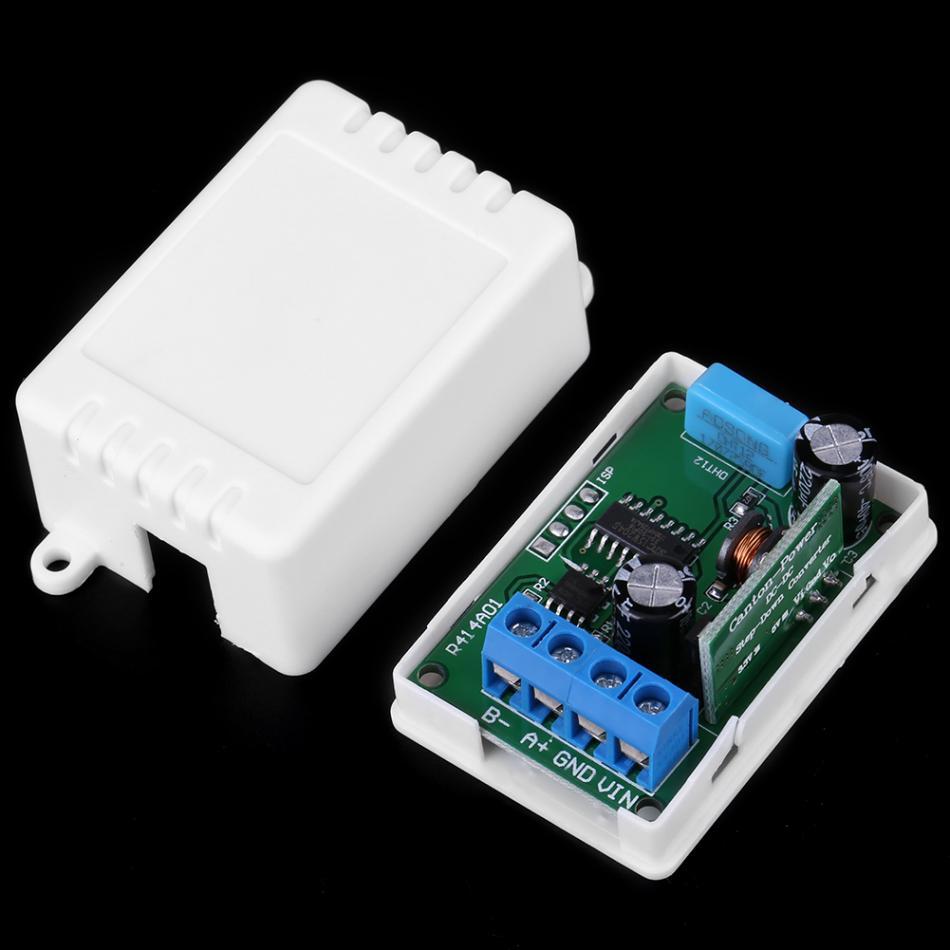 DC 5V-23V RS485 RTU Temperature Humidity Sensor Remote Acquisition Monitor
