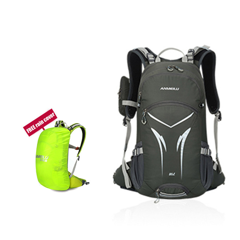 Outdoor bicycle backpack 20L Waterproof Rucksack for Hiking Camping Breathable backpack sports Shoulder bag With Helmet Net сумка overboard pro vis waterproof backpack 20l ob1157hvo