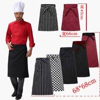The Hotel Restaurant Kitchen Chef Apron Body Stripe Apron Custom Short Apron Male Chef Kitchen Accessories