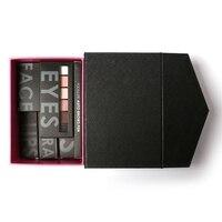 FOCALLURE 6pcs Makup Set Cosmetics Eyeshadow Lipstick Eyebrow Pencil Foundation Lipgloss Maquiagem With Cosmetics Box For