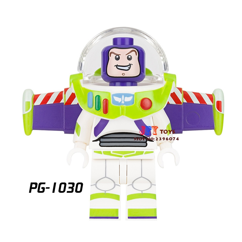 Single Star wars super heroes Buzz Lightyear toy story building blocks models bricks hobby toys for children kits