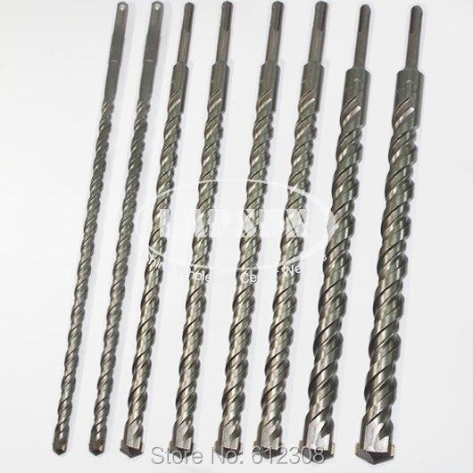 8pc set 350mm SDS plus Tungsten Carbide Drill Bit F Ceramic Tile Marble Concrete Cement Stone
