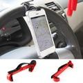 2016 Novas Cores Do Carro Bicicleta Cradle Volante Smart Clip suporte de montagem suporte do telefone móvel para o iphone samsung huawei para carros