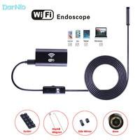 Hidden Wifi Endoscope HD 2m Camcorder 720P Waterproof Mini Camera Endoscopio for Earth Quake Rescue Detection Boroscope Spied