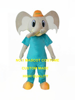 cool elephant boy mascot costume in blue advertising custom anime cartoon theme fruit cosply costumes carnival fancy dress 3432