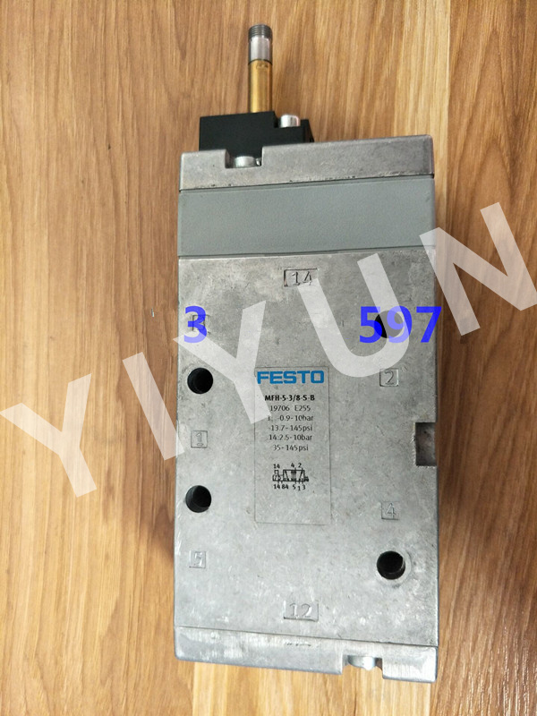 MFH-5-3/8-S-B 19706 MFH-5-1/2 6420 MFH-5-1/2-S 35547 FESTO Solenoid valve Pneumatic components pc400 5 pc400lc 5 pc300lc 5 pc300 5 excavator hydraulic pump solenoid valve 708 23 18272 for komatsu