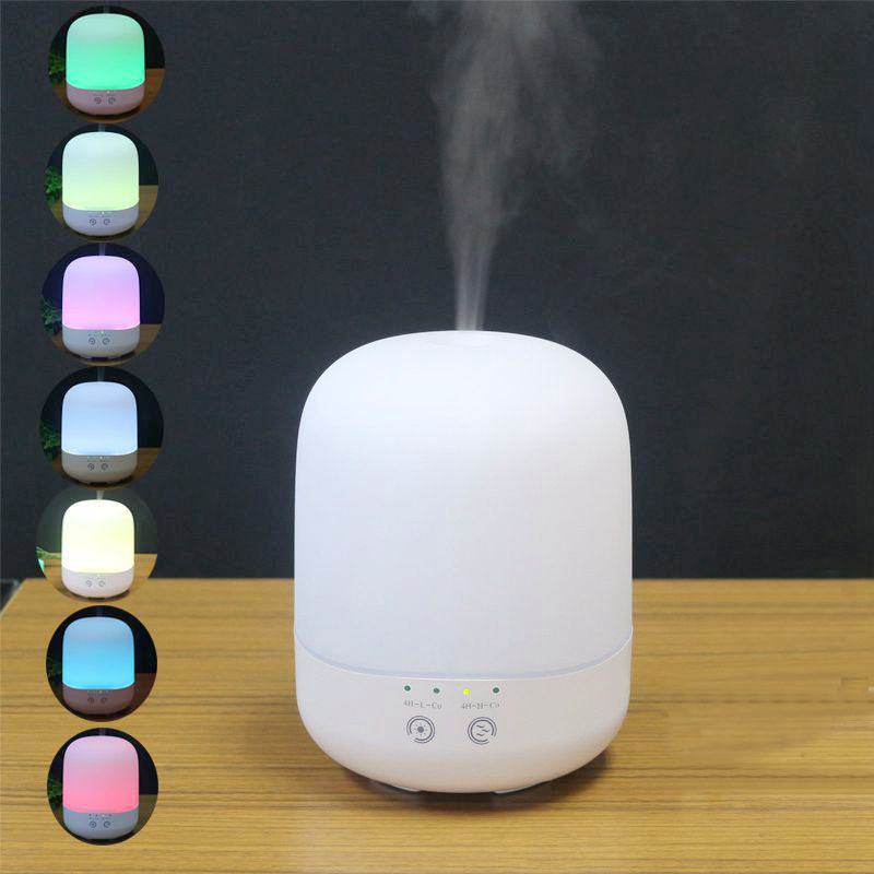 Essential Oil Diffuser 300ML Air Humidifier Touch Switch Aroma Lamp Electric Ultrasonic Aroma Diffuser Aromatherapy Mist Maker цены онлайн