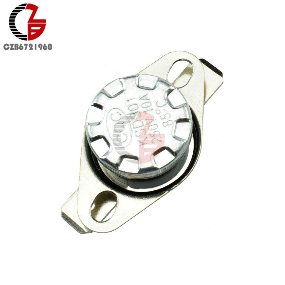 130 ° C 250v 10a thermoschalter bimetallschalter Interruptor de temperatura n.a