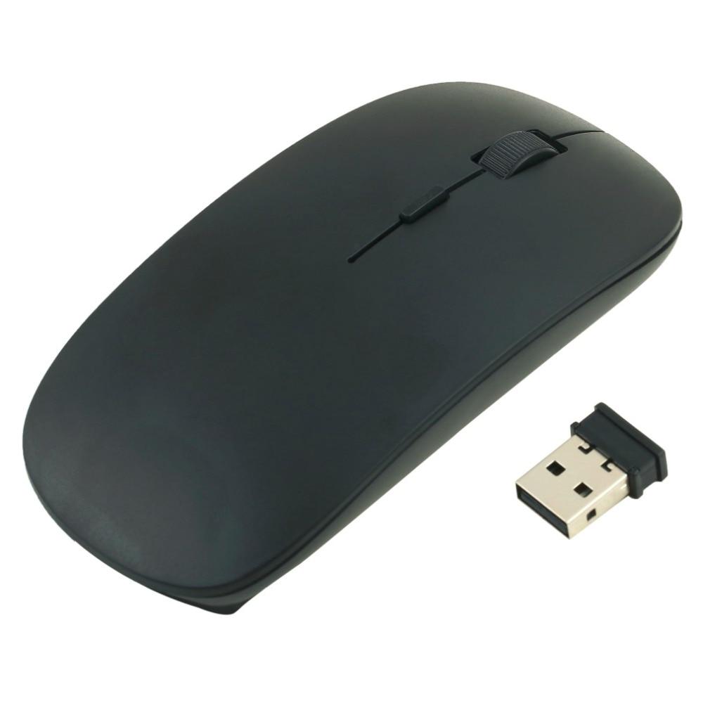 2.4 г Беспроводной Мышь ультра-тонкий 1200 Точек на дюйм оптический Мышь Мыши компьютерные с USB Dongle для Оконные рамы 2000 мне XP vista 7 портативных ПК